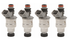 Set(4) Flow Matched Fuel Injector Set Fit Toyota-Geo 1.6 23250-16120