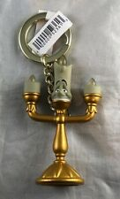 Disney Parks Lumiere Beauty and the Beast Keychain - NEW