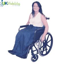 100% Waterproof Fleece Lined Wheelchair Cosy Rain Weather Cover