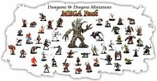 10 PACK - Dungeons & Dragons / Pathfinder Miniature LOT D&D Figures, RPG minis