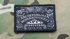 Black Ouija Death Board Morale Patch Devgru Hook Backing