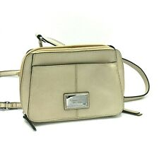 Tignanello Genuine Leather Ivory/Beige Cross Body Shoulder Strap HandBag (NEW)