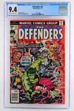 Defenders #43 -NEAR MINT- CGC 9.4 NM Marvel 1977 - Hulk & Doctor Strange!