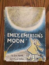 Emily Emerson's Moon by Jean Merrill/Solbert 1960 1st Edition w/ dust jacket