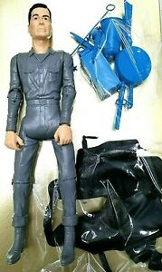 JOHNNY WEST GREY WITH FULL ACCESORIES LIGHT BLACK CLOTHES