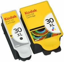 2 Ink Kodak 30 XL Black & Colour Replace for ESP 1.2 C110 C310 C315 Printer