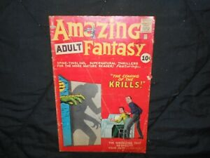 Amazing Adult Fantasy #8 Silver Age Atlas S. Ditko. L@@@@@K!!!!!!!!!!!!!!!!!