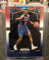 RJ Barrett 2019-20 Panini Prizm Red White Blue Rookie RWB RC #250 Knicks