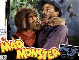 The Mad Monster 1942 George Zucco Horror DVD