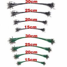 30pcs/lot Anti Bite Steel Fishing Line Steel Wire Leader With Swivel Olta Fishin