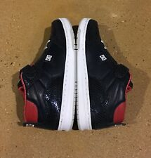 DC Azure Mid LX Navy Red Size 11 US BMX Skate Shoes Sneakers Rare Deadstock