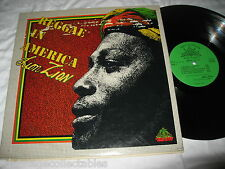 Lion Zion RECORD LP Reggae In America SIGNED AUTOGRAPHED Orig House Natty VG+