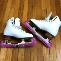 Riedell Skates Womans Size 5.5 John Wilson Excel Blades 99 Pattern