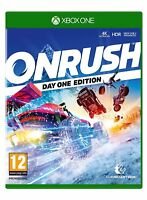 Onrush Day One Edition Xbox One BRAND NEW & SEALED X S 1