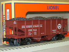 LIONEL PRR SCALE GLA 50 TON TWIN HOPPER 156811 coal 81686 o gauge train 6-81695