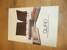 QUAD vintage Stereo Preamp, Amplifier Tuner  Original catalog