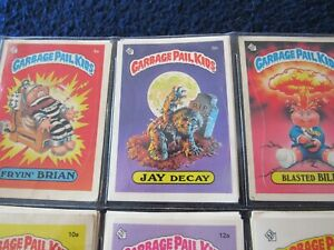 800+ GARBAGE PAIL KIDS CARDS INCLUDING JAY DECAY