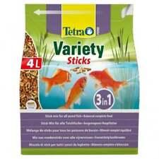 Tetra Pond Variety Sticks 4L  Food for all pond Koi Fish