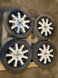 "98-04 Peugeot 206 GTI  alloys 16"" GENUINE ALLOY WHEELS X4 205 45 16"
