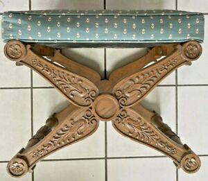 Baker Furniture - Vintage Regency Style X Bench