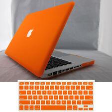 Rubberized Matt Hard Case Skin + Keyboard Cover for Macbook Air Pro 11 12 13 15'