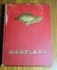 THE 1948 TERRAPIN UNIVERSITY OF MARYLAND TERRAPINS COLLEGE ANNUAL YEARBOOK