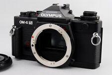 [MINT] Olympus OM-4TI 35mm SLR Film Camera Black Body Only w/Cap from Japan #117