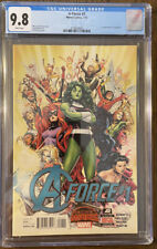 A-FORCE  #1 CGC 9.8 WHITE PAGES ORIGIN AND FIRST APPEARANCE OF SINGULARITY!