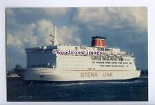 SIM0104 - Stena Line Ferry - Koningin Beatrix  , built 1986 - postcard