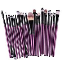 20x Makeup Brushes Kit Set Powder Foundation Eyeshadow Eyeliner Lip Brush Tool