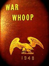 """1948 NORWICH UNIVERSITY YEARBOOK """"War Whoop""""  VT~ founding chapter of THETA CHI"""