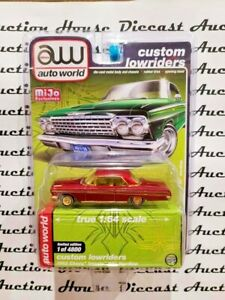 AUTO WORLD 1962 CHEVY IMPALA LOW RIDERERS 1 OF 96 CHASE PIECE MIJO EXCLUSIVE