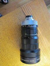 "Sun - Cosmicar Television 22.5-90mm f1:1.5 Zoom w/ Lens ""C""  No 67265"