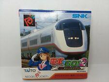 NEO GEO Pocket Color Densha de GO! 2; - Japan - SEALED!