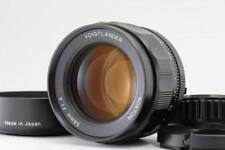 [Mint] Voigtlander Nokton 58mm f/1.4 SL II N for Nikon AI-S w/Hood F/S #1089