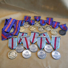 16 x ROYAL MILITARY POLICE MEDAL CITY OF CHICHESTER MARCH 1970 80's 90's