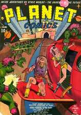 PLANET COMICS #1 (1940) PHOTOCOPY COMIC BOOK - LOU FINE - FICTION HOUSE