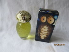 Vintage Estate Avon BABY OWL Occur! Cologne NIB NOS FULL Very Cute