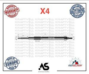 4 X DIESEL HEATER GLOW PLUGS 11V FOR FORD RANGER MAZDA BT 50 PICKUP WE0118601