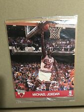 MICHAEL JORDAN PHOTO -  NBA HOOPS 1990