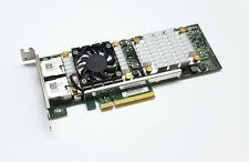 Broadcom 57810S 10 Gigabit 10GBe 10Gbit Dual Port RJ45 PCIe x8 10GBase-T NIC