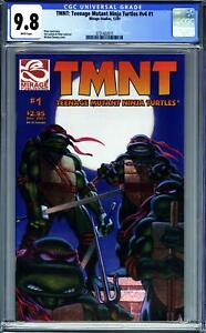 TEENAGE MUTANT NINJA TURTLES #1 (2001 Mirage) CGC 9.8 NM/M
