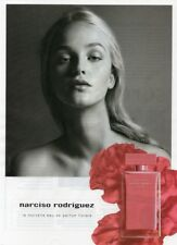 Publicit' papier  - edvertising paper - Fleur Musc de Narciso Rodriguez