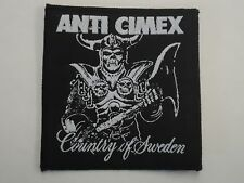 ANTI CIMEX COUNTRY OF SWEDEN WOVEN PATCH