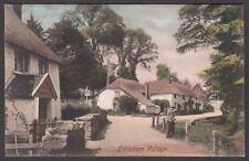 Postcard Littleham Village near Exmouth Devon posted 1908