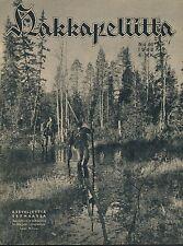 Finland Wartime Magazine Hakkapeliitta 1942 #46 - WWII Troops in Eastern Carelia