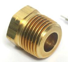 "(2) Tube Fittings Adapter Nut 3/8"" NPT Male to 1/8"" NPT Female"