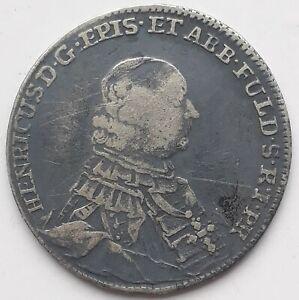 Fulda - Bistum, 20 Kreuzer 1763, 6,62 g, Schön 75