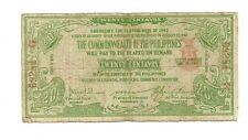 Philippines Emergency Currency Negros Bacolod- 20 Centavos - # 3111215