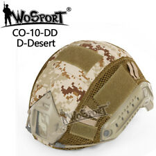 Camo Tactical Airsoft Paintball Military Helmet Cover New for FAST MH/PJ Helmet